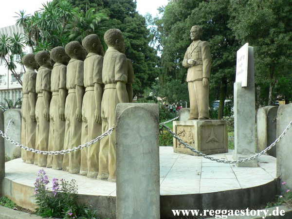 Addis Ababa - Nationalomuseum - Haile Selassie