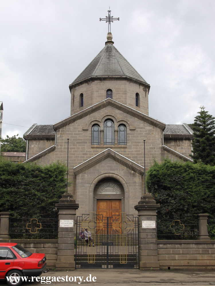 Armenian Church - St. George - Addis Ababa