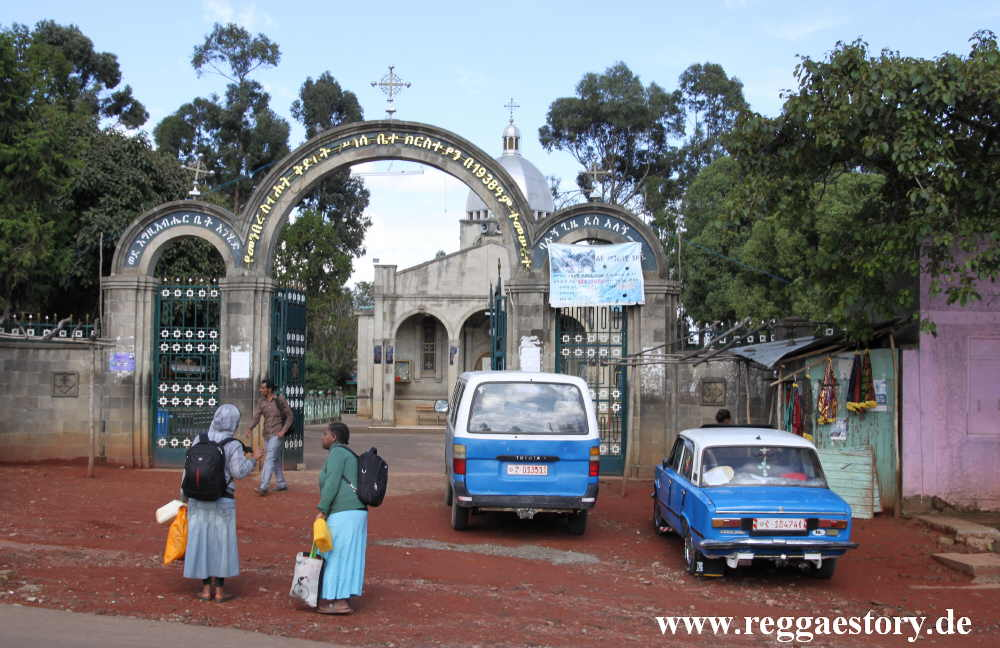 Shiro Meda Holy Trinity Church - Addis Ababa