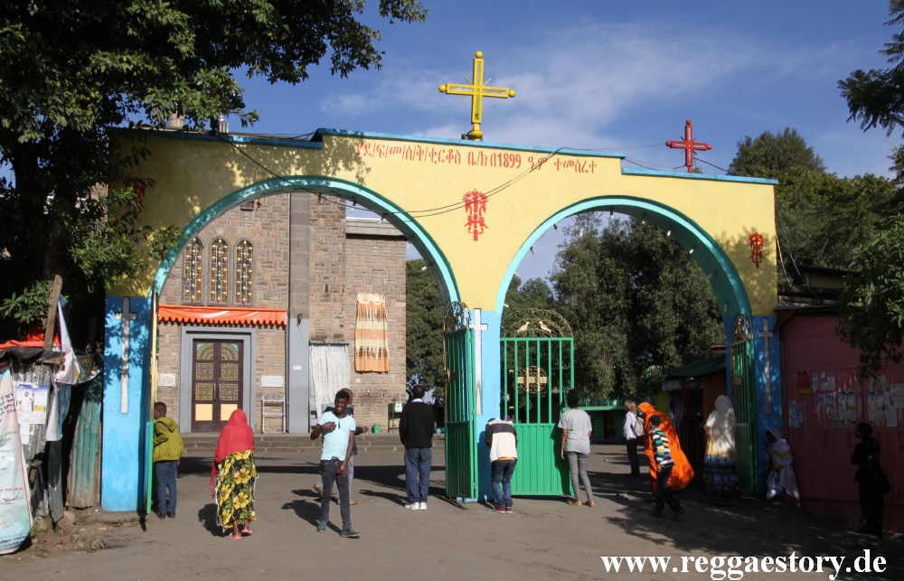 St. Kirkos Church - Kidus Kirkos - Addis Ababa