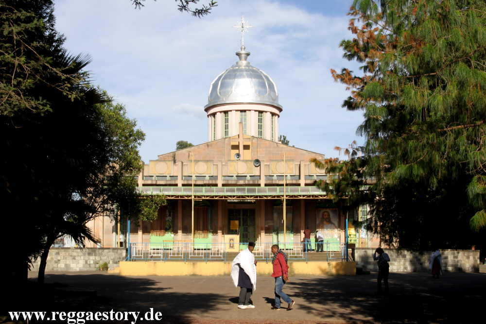 St. Yared Church - Kidus Yared - Addis Ababa