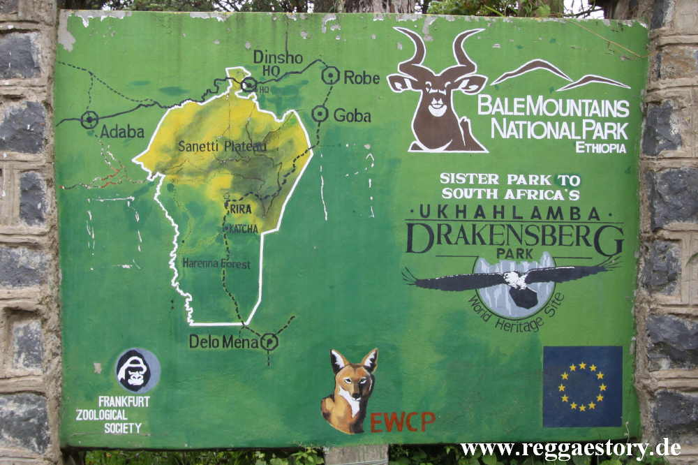 Ethiopia - Oromia - Bale Mountains National Park HQ - Dinsho