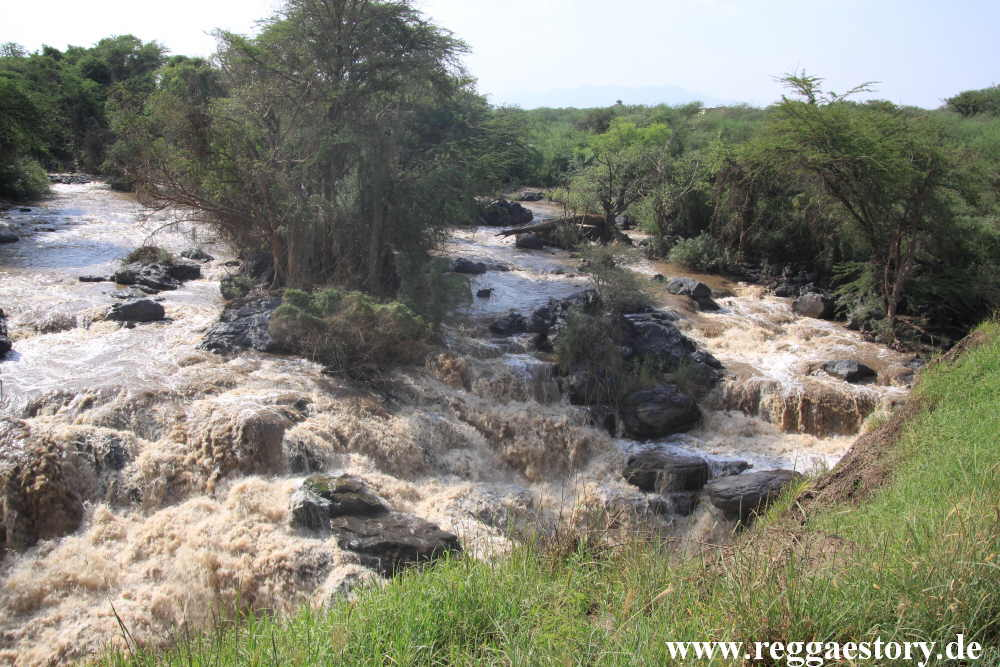 Ethiopia - Awash Nationalpark - Awash Falls