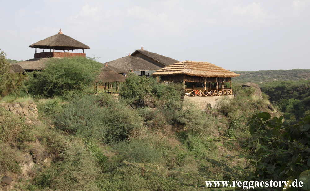 Ethiopia - Awash Nationalpark - Awash Falls Lodge
