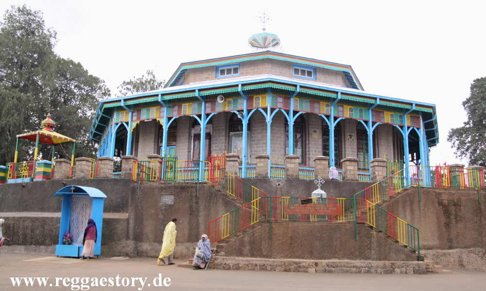 Addis Ababa - St. Mary´s Church
