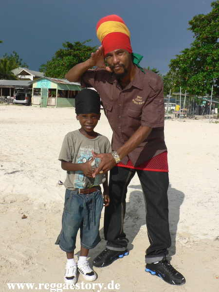 Jah Pure and son