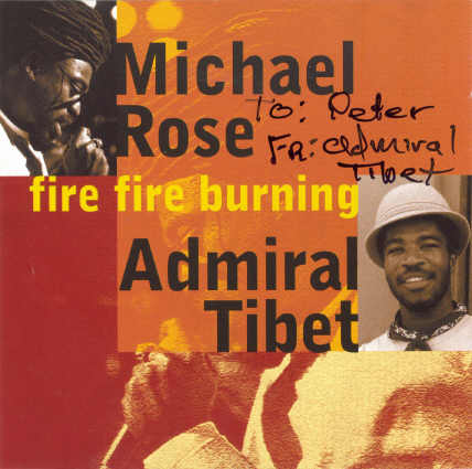 Admiral Tibet - Fire Fire Burning