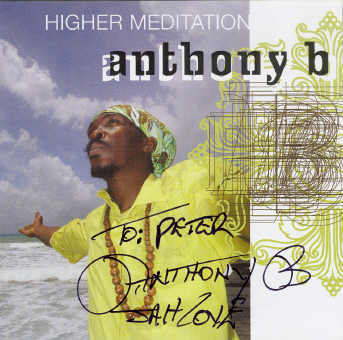 Anthony B - Higher Meditation - Album 2007