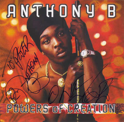 Anthony B - Powers Of Creation - Album 2004